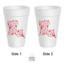 Crawfish Boil Louisiana Styrofoam Cups