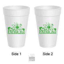 St Patrick's Day Styrofoam Cup     ST43