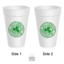 St Patrick's Day Styrofoam Cup     ST41