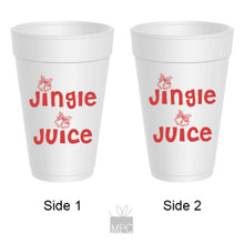 Christmas Jingle Juice Styrofoam Cups