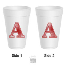 Styrofoam Cup  Houndstooth A     TS54