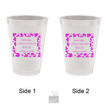 Frost Flex Plastic Cup  St. Louis Cathedral New Orleans     G105