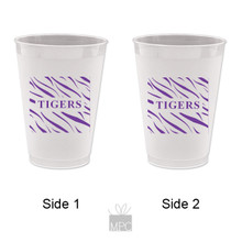 Frost Flex Plastic Cup  Tiger Stripes     TS1