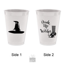 Halloween Drink Up Witches Frost Flex Plastic Cups