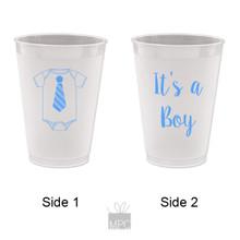 Baby Shower It's A Boy Frost Flex Plastic Cups