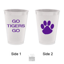 Go Tigers Go Frost Flex Plastic Cups