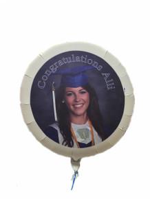 Graduation Photo Balloon without Helium