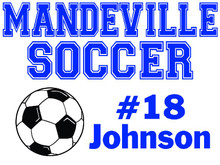 Mandeville High School Soccer Yard Sign