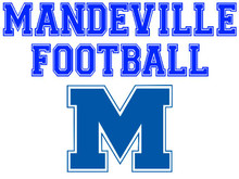 Mandeville High School Football Yard Sign (Spirit)