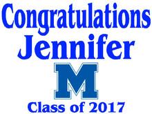 Mandeville High School Graduation Yard Sign (M)