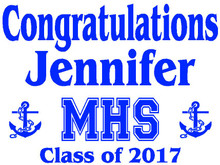 Mandeville High School Graduation Yard Sign (MHS)