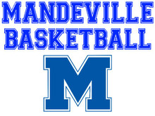 Mandeville High School Basketball Yard Sign (Spirit)