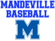 Mandeville High School Baseball Yard Sign (Spirit)
