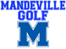 Mandeville High School Golf Yard Sign (Spirit)