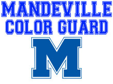 Mandeville High School Color Guard Yard Sign (Spirit)