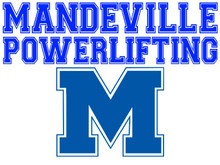 Mandeville High School Powerlifting Yard Sign (Spirit)