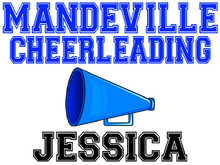 Mandeville High School Cheer Yard Sign (M)