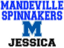 Mandeville High School Spinnaker Yard Sign (M)
