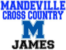 Mandeville High School Cross Country Yard Sign (M)