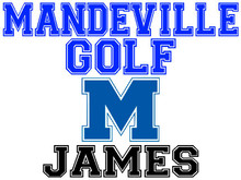 Mandeville High School Golf Yard Sign (M)