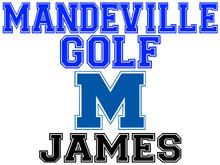 Mandeville High School Golf Yard Sign (M)