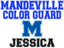 Mandeville High School Color Guard Yard Sign (M)