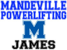 Mandeville High School Powerlifting Yard Sign (M)