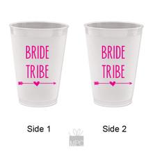 Bachelorette Bride Tribe Frost Flex Plastic Cups