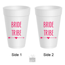 Bachelorette Bride Tribe Styrofoam Cups