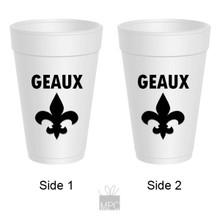 Geaux Cup with Fleur de Lis