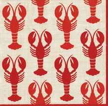 Beverage & Lunch Napkin - Crawfish