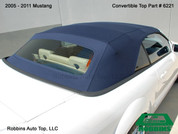 2009-2011 Mustang One Piece Top w/Heated Glass