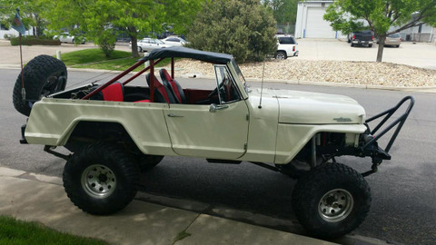 Roll Bar Top Jeepster Commando 1965 1973