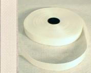 "1.5"" White Polypropylene Webbing"