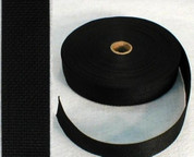 "1/2"" Black Poly Webbing"