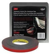 "3M™ ½"" x 20yds Black Automotive Acrylic Attachment Tape"