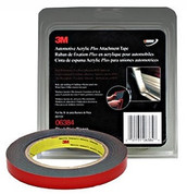 "3M™ ½"" x 5yds Black Automotive Acrylic Attachment Tape"