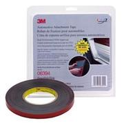 "3M™ ½"" x 10yds Gray Automotive Acrylic Attachment Tape"