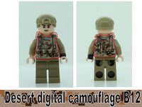 Digital Camo Printed B12 Tactical Vest