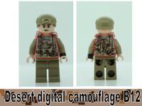 Digital Camo Printed B12 Tactical Vest