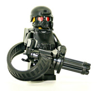 Minigun Trooper Minifigure