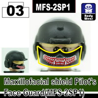 (Red Print) Maxillofacial Shield Face Guard MFS-2