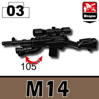 M14 Sniper Rifle with bipod
