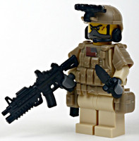 Navy Seal Team Desert Special Ops Minifigure