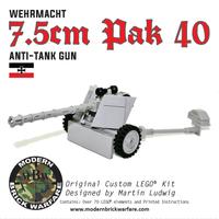 7.5cm PAK 40 Anti-Tank Gun
