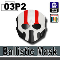 Ballistic Mask Darth Nihilus Printed