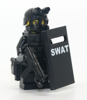 Swat Slit Riot Shield Officer