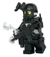 SWAT Rifle Man Police Officer