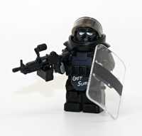 Special Forces Juggernaut Assaulter Clear Shield