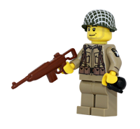 World War 2 US Army 101st Airborne Minifigure